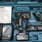 マキタ 24mm充電式ハンマドリル HR244DZK