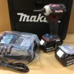 マキタ 充電式インパクトドライバ TD171DGXAR 18V 6.0Ah バッテリ2個 ※1,2回使用