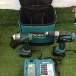 makita 充電式インパクトドライバ・ドリルドライバセット DF445D TD135D