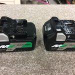 HiKOKI マルチボルトバッテリー2個セット BSL36A18