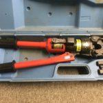 泉 手動油圧式圧着機 9H-2
