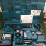 マキタ 充電式ハンマドリル 集塵システム付き HR244DRGXV