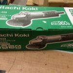 日立 Hitachi Koki 100mmディスクグラインダ G10SH5(ES)