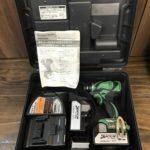 日立 充電式インパクトドライバ WH18DBAL2