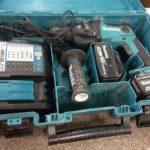makita 16mm充電式ハンマドリル HR165DRGX