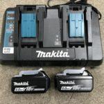 マキタ 2口充電器+バッテリー2個セット DC18RD,BL1860B