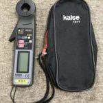 kaise クランプメーター 暗電流クランプメーター
