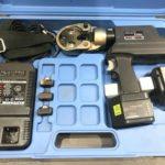 IZUMI 泉精器 充電油圧式圧着工具