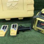 トプコン TOPCON ローティングレーザー 受光器 三脚セット