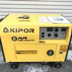 KIPOR キポー 静音型 ディーゼルエンジン発電機