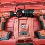 ヒルティ 充電式ドリル・インパクトセット