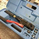 手動油圧式工具