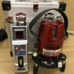 タジマ レーザー墨出し器 受光器付き
