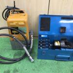 油圧ヘッド分離式工具ポンプ部+ヘッド部