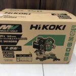 HiKOKI ハイコーキ 165mmコードレス卓上スライド丸のこ